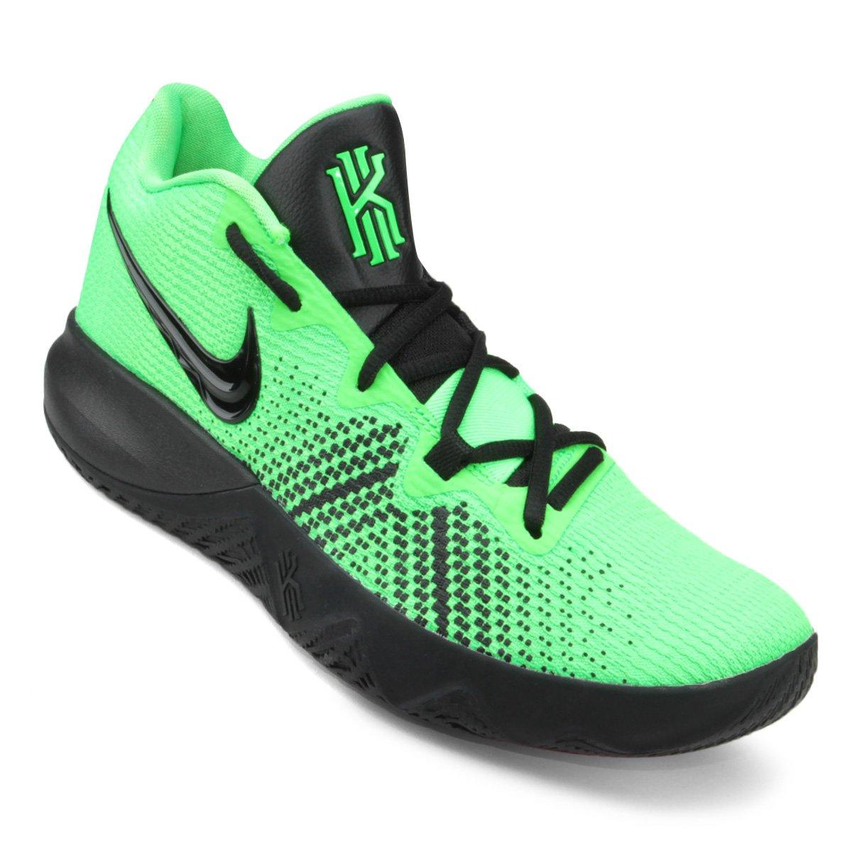 17c6b89b55 Tênis Nike Kyrie Flytrap Masculino - Verde e Preto - Compre Agora ...