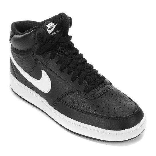 Tênis Nike Legend Force Mid Masculino - Preto+Branco