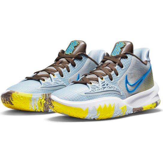 Tênis Nike NBA Kyrie Irving Low 4 - Azul+Preto