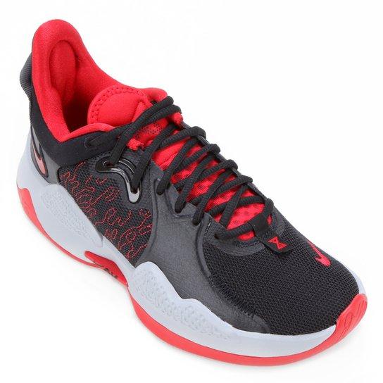 Tênis Nike PG 5 - Preto+Vermelho