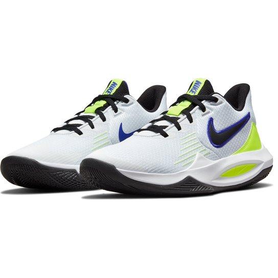 Tênis Nike Precision V - Branco+Preto
