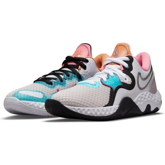 Tênis Nike Renew Elevate II - Lilás+Azul